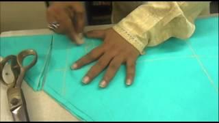 How to Cut Churidaar Pajama/Simple Churidar Cutting Method/Easy *
