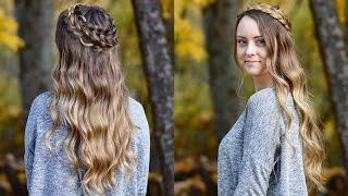 Dutch Halo Braid | Cute Girls Hairstyles