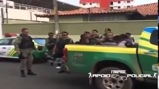 PM de Piauí dando tratamento VIP para ladrão