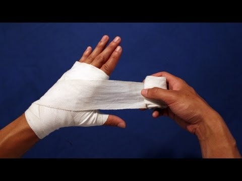 How to Wrap Your Hands BOXING best method