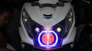 Honda Beat FI Custom Headlamp Projie Jazz RS LED One eye