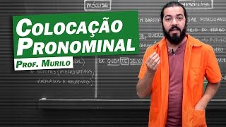 Gramática - Colocação Pronominal