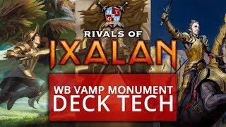 BW Vampire Monument Rivals of Ixalan Standard Deck Tech MTG