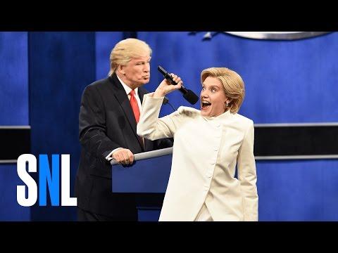 Xxx Mp4 Donald Trump Vs Hillary Clinton Third Debate Cold Open SNL 3gp Sex
