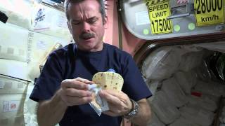 How To Make A Peanut Butter and Honey Sandwich In Space | Video