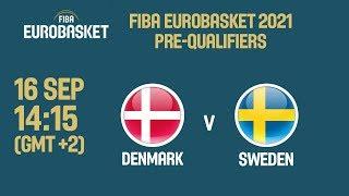 Denmark v Sweden - Full Game - FIBA EuroBasket 2021 Pre-Qualifiers 2019