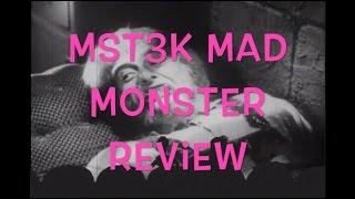 MST3K: Mad Monster Review