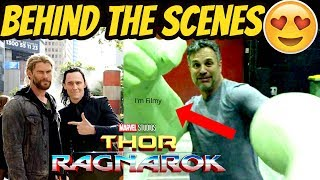 Thor: Ragnarok Behind the Scenes Ft. Chris Hemsworth & Tom Hiddleston - I