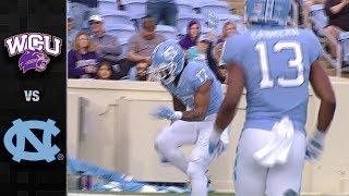 Western Carolina vs. North Carolina Football Highlights (2017)