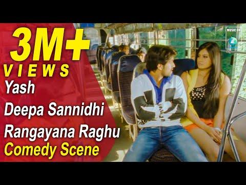 Jaanu Kannada Movie Comedy Scenes 11 | Yash, Deepa, Rangayana Raghu