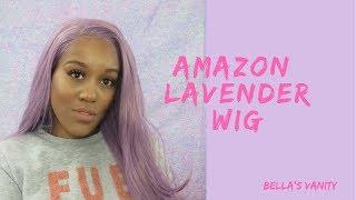 Affordable Lavender Amazon Wig| Watch me slay| BELLASVANITY
