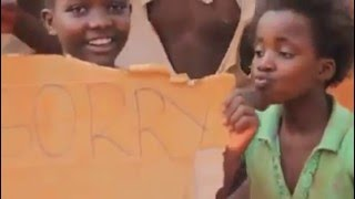 GHETTO kids from Uganda Dancing to Sorry B y  Justin Bieber.