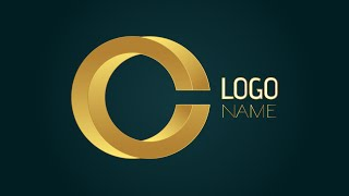 Adobe Illustrator CS6 | 3D Logo Design Tutorial (Catch)