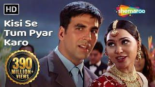 Kisi Se Tum Pyar Karo | Andaaz Songs | Akshay Kumar | Lara Dutta | Kumar Sanu | Filmigaane