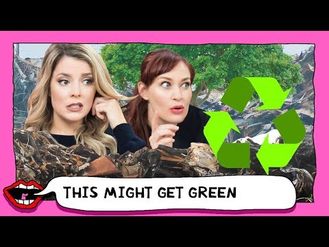 SNOOPING THROUGH CELEBRITY TRASH with Grace Helbig & Mamrie Hart
