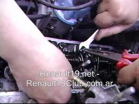 Regulación de Valvulas Motor 1.6 PARTE 2 2 Renault19 Renault 19 club .ar