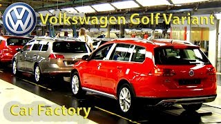 Volkswagen Golf Variant Production (Zwickau, Germany) Car Factory