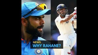 Why is Virat Kohli favouring Rohit Sharma instead of Ajinkya Rahane?