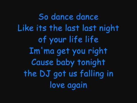 Dj Got Us Falling In Love Again-Usher Lyrics