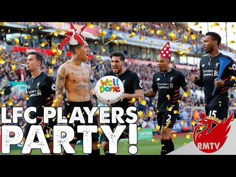 Liverpool Players Party! | LFC Extra Time Show