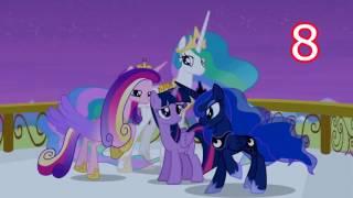 My little pony Top 10 songs(season 1-6)