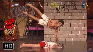 Sanketh and Priyanka Performance | Dhee Jodi | 25th January 2017| ETV Telugu