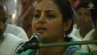 20170805 Sri Sri Radha Madhava Jhulan Yatra - Day 3 Kirtan Vishaka dd.