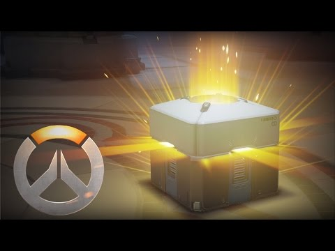 OVERWATCH - OPENING 5 BLIZZARD LOOTBOX GIFT #MERRY X'MAS ALL