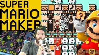 Super Creative Interactive Music Level! | Super Mario Maker [GAMEPLAY]