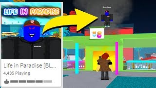 BLUE GUEST TOOK OVER LIFE IN PARADISE.. (Roblox)