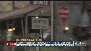 Does a ghost haunt Nashville's Story Inn?