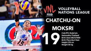 Top 20 Amazing Volleyball by Chatchuon Moksri | FIVB Volleyball Nations League 2018