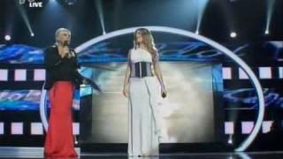 Greek Idol 2010 - Live Show 1 - Top 15  - Tania - Αλήτισσα ψυχή