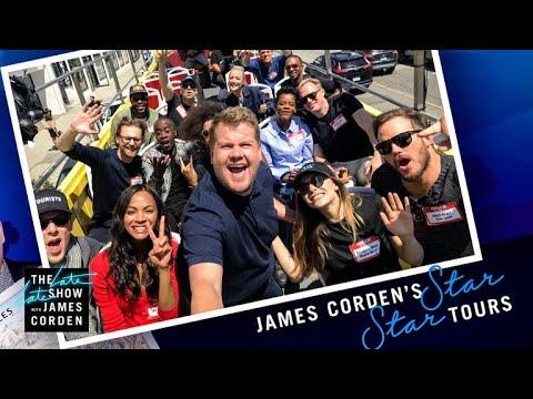 Xxx Mp4 Avengers Infinity War Cast Tours Los Angeles W James Corden 3gp Sex