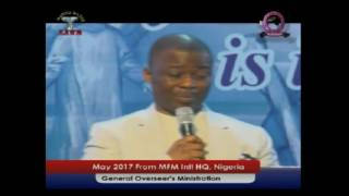 Dr  D k Olukoya   The Dark Remote Controlling Power  Manna Water May 2017
