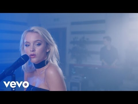 Zara Larsson - Ain't My Fault (Live) - Stripped (Vevo UK LIFT)