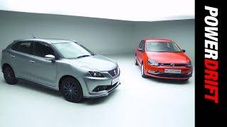 Maruti Suzuki Baleno RS Or The Volkswagen Polo GT TSI? : PowerDrift