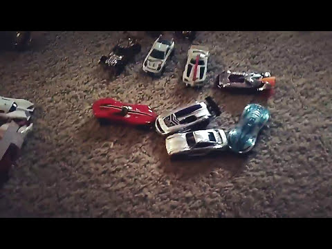 Hot Wheels stop motion trailer