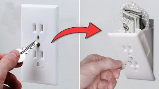 Great Ideas To Hide Money In Your Home