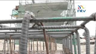 Athi river super grand bridge construction