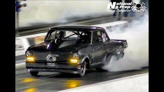 Bristol's Street Outlaws 100k  No Prep Race Complete Round One