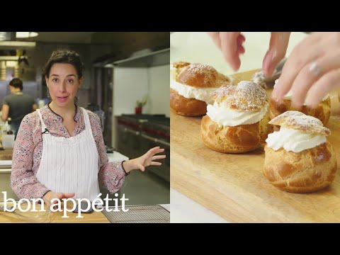 Carla Makes Life Changingly Good Cream Puffs From the Test Kitchen Bon Appétit
