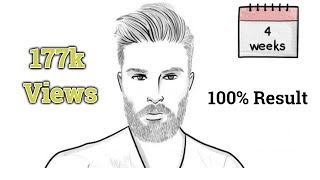 How to Grow Beard Fast Naturally/ 1 Simple Trick / Home Remedy