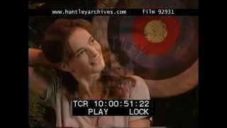 Gabrielle Anwar Interview on Innocent Lies, 1990's - Film 92931
