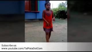 Bristy pore tapur tupur dance by cute girl