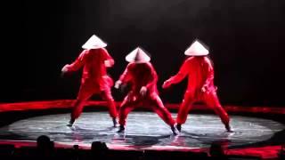 Dancing Crew conical VietNam with Quick Crew in 2014
