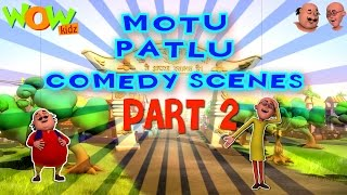 Motu Patlu Comedy Scenes Compilation Part 2 - 30 Minutes of Fun!