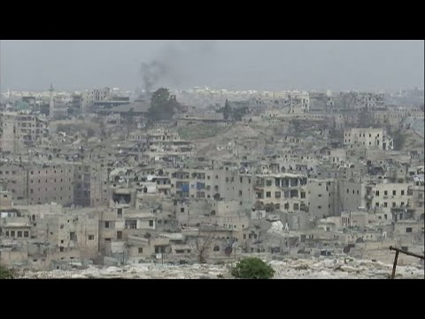 Syria A rare look inside Aleppo a city left in ruins
