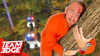 Handcuffed Prisoner Escape Challenge! | Escape the Forest!!