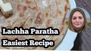 Lachha Paratha Recipe ll Laccha Paratha Easy Recipe ll with English Subtitles l Cooking with Benazir
